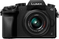 Panasonic Lumix DMC-G70 Kit 14-42 mm schwarz