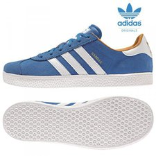 Adidas Gazelle 2 Junior blue bird/ftw white/gol...