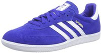 Adidas Samba bold blue/white/metallic gold