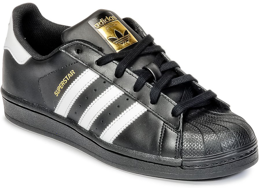 huge selection of fa0bc b2498 Adidas Superstar Foundation Jr (B2364) black günstig kaufen