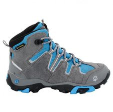 Jack Wolfskin Mountain Attack Mid Texapore Boys brilliant blue