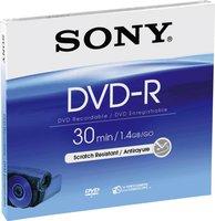 Sony DVD-R Mini 1,4GB 30min 5er