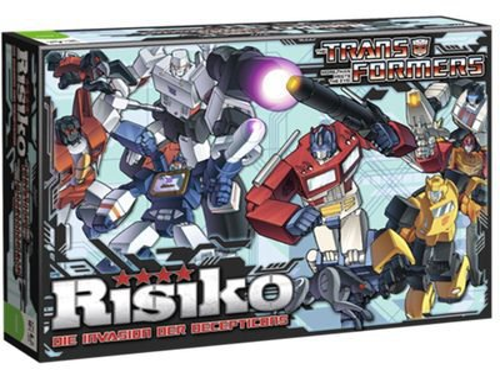 Winning Moves Risiko Transformers Retro