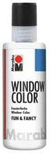 Marabu Fun & Fancy Window Color 80 ml, Konturen weiß