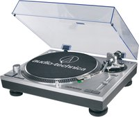 Audio Technica AT-LP120USB-HC silber