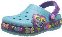 Crocs CrocsLights Butterfly aqua/neon purple