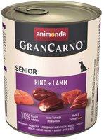Animonda Petfood Gran Carno Senior Kalb und Lamm (800 g)