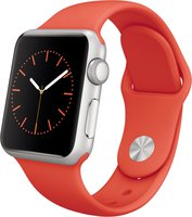 Apple Watch Sport 38mm Sportarmband orange