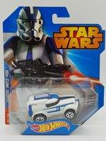 Hot Wheels Star Wars Auto 501st Clone Trooper
