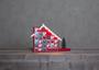"Best Season Adventskalender  ""Advent House "" 8 warmweiße LEDs"