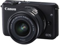 Canon EOS M10 Kit 15-45 mm schwarz