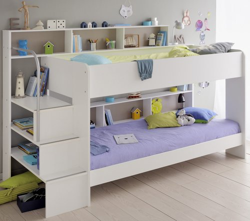 Etagenbett Bibop 12 : Kinderzimmer tlg bibop parisot massivholzmoebel mdv
