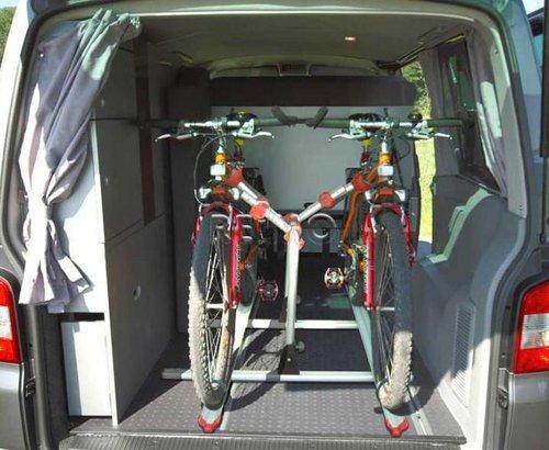 Reimo Fahrradträger VWT5 für Sitzschiene
