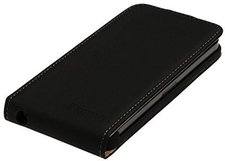 König Electronics Flip Case schwarz (Galaxy S5 mini)