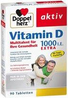 Doppelherz Vitamin D 1.000 I.E. Extra Tabletten (90 Stk.)