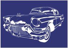 Rayher Schablone Cadillac