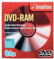 Imation DVD-RAM 9,4GB 240min doppelseitig 5er Jewelcase