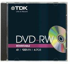 TDK DVD-R 4,7GB 120min 4x 5er Jewelcase