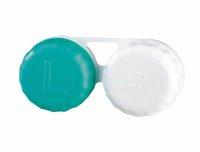 Lenscare Aufbewahrungsbehälter flach 2 Kammern (1 Stk.)