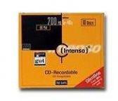 Intenso GmbH CD-R 700MB 80min 52x 10er Slimcase