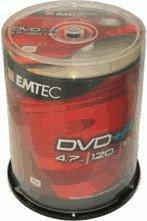 Emtec DVD+R 4,7GB 120min 16x 100er Spindel