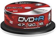 Emtec DVD+R 4,7GB 120min 16x 25er Spindel