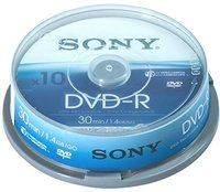 Sony DVD-R Mini 1,4GB 30min 10er Spindel