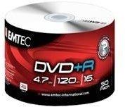 Emtec DVD+R 4,7GB 120min 16x 50er Spindel
