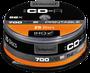 Intenso GmbH CD-R 700MB 80min 52x ScratchProof bedruckbar 25er Spindel