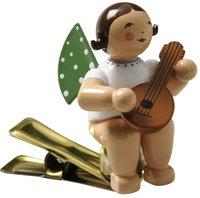Wendt & Kühn Engel mit Mandoline auf Klemme