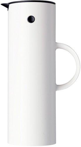 Stelton 960 Isolierkanne 1,0 l weiß