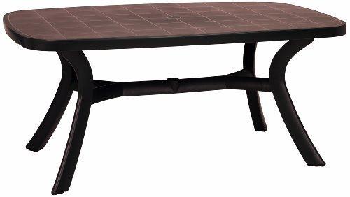 Best Freizeitmöbel Kansas Tisch oval 192x105 cm
