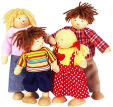 Pintoy Puppenfamilie A