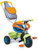 Smoby Dreirad Be Fun Comfort grün-blau-orange