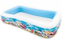 Intex Pools Family Pool Tropical Reef 305 x 183 cm mit Reparaturset