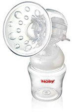 Nuby Natural Touch SoftFlex 2-in-1 Milchpumpe im Set