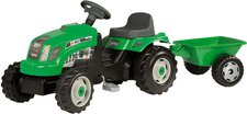 Smoby GM Traktor + Anhänger grün