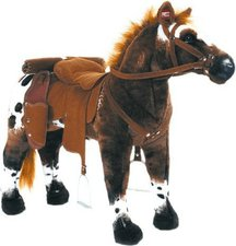 Happy People Pferd Anglo-Araber stehend mit Sound 71 cm