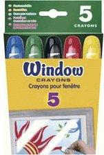 Crayola Fenstermalstifte 5er Pack