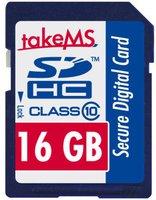 takeMS SDHC 16GB Class 10 (88637)