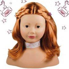 Götz Schmink- und Frisierkopf - rote Haare