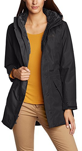 Jack Wolfskin 5th Avenue Coat Black