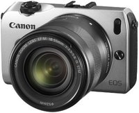 Canon EOS M Kit 18-55 mm (silber)
