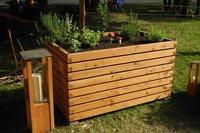 Gartenfrosch Holzhochbeet 140 x 80 x 90 cm (Lärche)