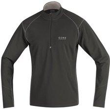 Gore Essential Shirt Long schwarz