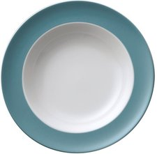 Thomas Rosenthal Group Sunny Day turquoise Suppenteller 23 cm