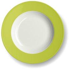 Dibbern Solid Color limone Suppenteller 23 cm tief