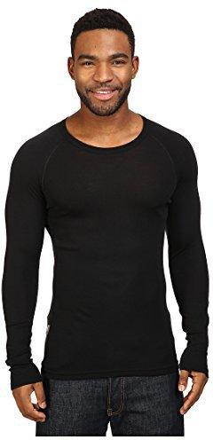 Icebreaker Everyday Long Sleeve Crewe Men black