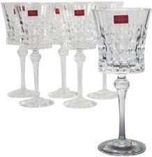 CreaTable Rotweinglas Lady Diamond 250 ml