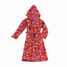 PIP Bademantel Chinese Blossom red